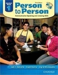Person to Person 1 Student´s Book + CD (3rd)