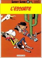 BD, Lucky Luke: L´Escorte (Tome 28)