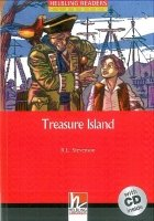 HELBLING READERS CLASSICS LEVEL 3 RED LINE - TREASURE ISLAND + AUDIO CD PACK