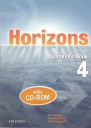 HORIZONS 4 STUDENT´S BOOK + CD-ROM