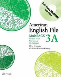 American English File 3 Student´s Book + Workbook Multipack A - Christina Latham-Koenig;Clive Oxenden