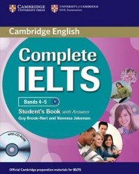 Complete IELTS Bands 4-5 Students Book with Answers with CD-ROM - Guy Brook-Hart