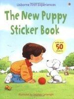 First Experience Sticker Book New Puppy