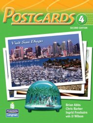 Postcards 4 with CD-ROM and Audio - Abbs Brian;Barker Chris