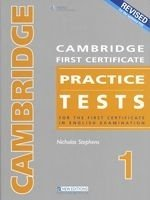 CAMBRIDGE FCE PRACTICE TESTS 1 2008 Revised Ed. STUDENT´S BOOK WITH KEY + AUDIO CD PACK