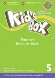 Kid´s Box 5 Teacher´s Resource Book with Online Audio American English,Updated 2nd Edition