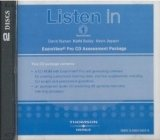 LISTEN IN Second Edition 1 EXAMVIEW CD-ROM