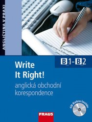 Write It Right! Učebnice s audio CD