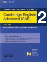 EXAM ESSENTIALS PRACTICE TESTS: CAMBRIDGE ENGLISH: ADVANCED (CAE) 2 with DVD-ROM with KEY