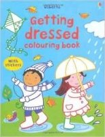 Getting Dressed Colouring Book