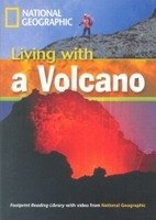 FOOTPRINT READERS LIBRARY Level 1300 - LIVING WITH A VOLCANO + MultiDVD Pack
