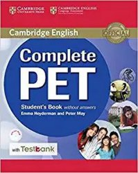 Complete PET Student´s Book without Answers with CD-ROM and Testbank