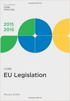 Core EU Legislation 2015-16