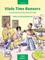 VIOLA TIME RUNNERS with AUDIO CD