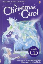 USBORNE YOUNG READING LEVEL 2: A CHRISTMAS CAROL + AUDIO CD PACK