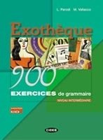 EXOTHÉQUE - 900 EXERCICES DE GRAMMAIRE + CD-ROM