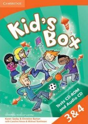Kid´s Box s 3-4 Tests CD-ROM and Audio CD,2nd Edition