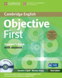 Objective First 3rd Edition Student's Book Pack (Student's Book with answers with CD-ROM and Class Audio CDs(2))