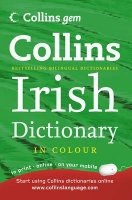 COLLINS GEM IRISH DICTIONARY Third Ed.