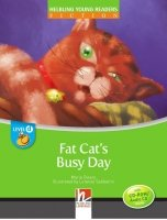 HELBLING YOUNG READERS Stage D: FAT CAT´S BUSY DAY + CD-ROM PACK