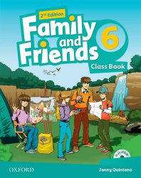 Family and Friends 6 2nd Edition Course Book - Quintana Jenny