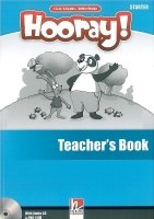 HOORAY, LET´S PLAY! STARTER TEACHER´S BOOK WITH CLASS AUDIO CD AND DVD-ROM