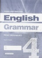 LEARN & PRACTISE ENGLISH GRAMMAR 4 TEST BOOKLET