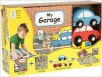 My Garage (Book, Wooden Toy & 16-piece Puzzle)  - neuveden