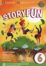 Storyfun 6 Student´s Book with Online Activities and Home Fun Booklet 6