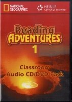 READING ADVENTURES 1 AUDIO CD/DVD