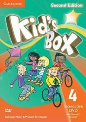 Kid´s Box 4 Interactive DVD with Teacher´s Booklet, 2nd Edition - Caroline Nixon