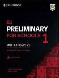 B1 Preliminary for Schools 1 for revised exam from 2020 Student´s Book with Answers with Audio - neuveden