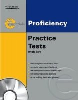 EXAM ESSENTIALS: PROFICIENCY PRACTICE TESTS WITH KEY + AUDIO CD PACK Revised
