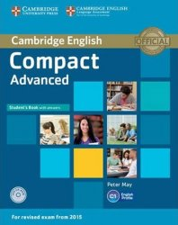 Compact Advanced Student´s Book with Answers with CD-ROM - Peter May