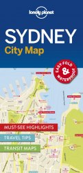 Lonely Planet Sydney City Map 1.