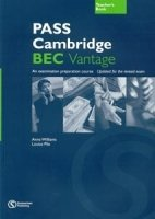 PASS CAMBRIDGE BEC VANTAGE TEACHER´S BOOK