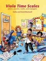 VIOLA TIME SCALES: Pieces, puzzles, scales, and arpeggios (Revised Edition)