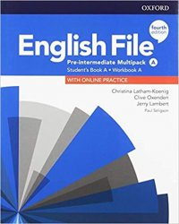 English File Pre-Intermediate Multipack A with Student Resource Centre Pack (4th)