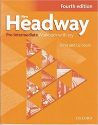 New Headway Pre-intermediate Workbook with Key (4th)