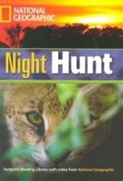 FOOTPRINT READERS LIBRARY Level 1300 - NIGHT HUNT + MultiDVD Pack