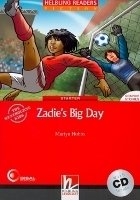 HELBLING READERS FICTION LEVEL 1 RED LINE - ZADIE´S BIG DAY + AUDIO CD PACK