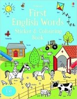 First English Words Sticker and Colouring Book (Sticker and Colouring Books)