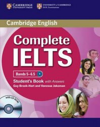 Complete IELTS Bands 5-6.5 Students Pack (Students Book with Answers with CD-ROM and Class Audio - Guy Brook-Hart