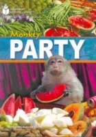 FOOTPRINT READERS LIBRARY Level 800 - MONKEY PARTY + MultiDVD Pack