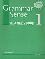 GRAMMAR SENSE 1 TEACHER´S BOOK + TEST CD
