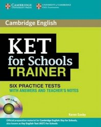 KET for Schools Trainer: Practice Tests with answ and Audio CDs (2)