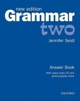 GRAMMAR TWO New Edition ANSWER BOOK AND AUDIO CD PACK
