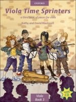 VIOLA TIME SPRINTERS with AUDIO CD