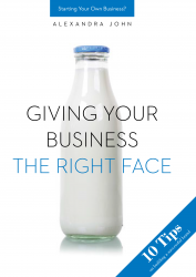 Giving your business the right face - Alexandra John [E-kniha]