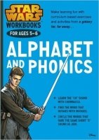 Star Wars Workbooks: Alphabet & Phonics (Ages 5-6)
